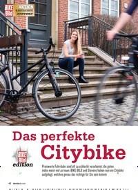 Titelbild der Ausgabe 2/2019 von Das perfekte Citybike. Zeitschriften als Abo oder epaper bei United Kiosk online kaufen.