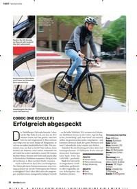 Titelbild der Ausgabe 3/2019 von COBOC ONE ECYCLE F1Erfolgreich abgespeckt. Zeitschriften als Abo oder epaper bei United Kiosk online kaufen.