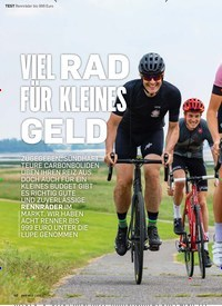 Titelbild der Ausgabe 3/2019 von VIEL RAD FÜR KLEINES GELD. Zeitschriften als Abo oder epaper bei United Kiosk online kaufen.