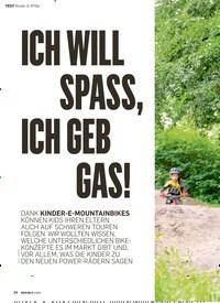 Titelbild der Ausgabe 4/2019 von ICH WILL SPASS, ICH GEB GAS!: Kinder-E-MTBs. Zeitschriften als Abo oder epaper bei United Kiosk online kaufen.