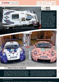 Titelbild der Ausgabe 1/2018 von Le Mans 2018: BERÜHMTE PORSCHE-DESIGNS. Zeitschriften als Abo oder epaper bei United Kiosk online kaufen.