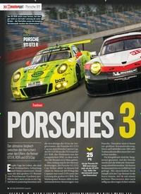Titelbild der Ausgabe 1/2018 von Porsche 911: Tracktest : PORSCHES 3 MUSKETIERE. Zeitschriften als Abo oder epaper bei United Kiosk online kaufen.