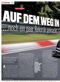 Titelbild der Ausgabe 1/2018 von LMP1: Porsche 919 Hybrid: AUF DEM WEG INS MUSEUM…: noch ein paarRekoedegeknackt. Zeitschriften als Abo oder epaper bei United Kiosk online kaufen.