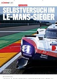 Titelbild der Ausgabe 1/2018 von LMP1: Porsche 919 Hybrid: SELBSTVERSUCH IM LE-MANS-SIEGER. Zeitschriften als Abo oder epaper bei United Kiosk online kaufen.