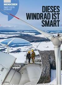 Titelbild der Ausgabe 8/2019 von DIESES WINDRAD IST SMART: MENSCHEN: SMART-CHEFIN KATRIN ADT. Zeitschriften als Abo oder epaper bei United Kiosk online kaufen.