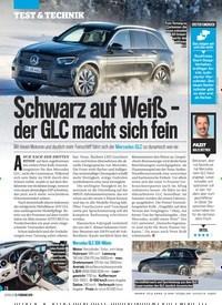 Titelbild der Ausgabe 8/2019 von Schwarz auf Weiß – der GLC macht sich fein. Zeitschriften als Abo oder epaper bei United Kiosk online kaufen.