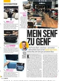Titelbild der Ausgabe 11/2019 von MEIN SENF ZU GENF. Zeitschriften als Abo oder epaper bei United Kiosk online kaufen.