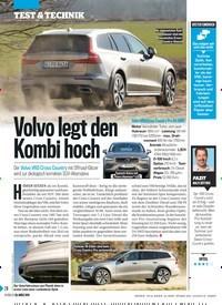 Titelbild der Ausgabe 13/2019 von Volvo legt den Kombi hoch. Zeitschriften als Abo oder epaper bei United Kiosk online kaufen.