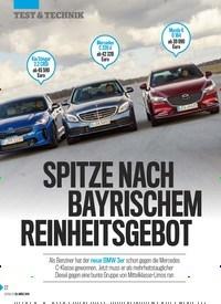 Titelbild der Ausgabe 13/2019 von SPITZE NACH BAYRISCHEM REINHEITSGEBOREINHEITSGEBOT. Zeitschriften als Abo oder epaper bei United Kiosk online kaufen.