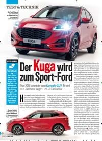 Titelbild der Ausgabe 14/2019 von Der Kuga wird zum Sport-Ford zum Sport. Zeitschriften als Abo oder epaper bei United Kiosk online kaufen.