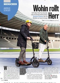 Titelbild der Ausgabe 14/2019 von Wohin rollt Deutschland, Herr Minister?. Zeitschriften als Abo oder epaper bei United Kiosk online kaufen.