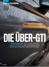 Titelbild der Ausgabe 14/2019 von DIE ÜBER-GTI. Zeitschriften als Abo oder epaper bei United Kiosk online kaufen.