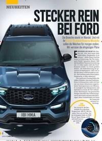 Titelbild der Ausgabe 15/2019 von STECKER REIN BEI FORD. Zeitschriften als Abo oder epaper bei United Kiosk online kaufen.