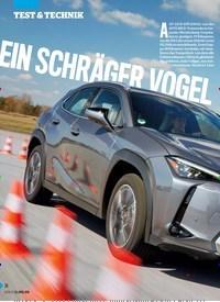 Titelbild der Ausgabe 17/2019 von EIN SCHR ÄGER VOGEL IM HÄRTETEST. Zeitschriften als Abo oder epaper bei United Kiosk online kaufen.