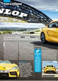 Titelbild der Ausgabe 20/2019 von SO IST DER Z4 WIRKLICH SUPRA. Zeitschriften als Abo oder epaper bei United Kiosk online kaufen.