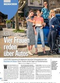 Titelbild der Ausgabe 20/2019 von MENSCHEN: KEIN UNFALL! Vier Frauen reden über Autos. Zeitschriften als Abo oder epaper bei United Kiosk online kaufen.