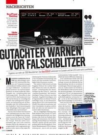 Titelbild der Ausgabe 21/2019 von GUTACHTER WARNEN VOR FALSCHBLITZER. Zeitschriften als Abo oder epaper bei United Kiosk online kaufen.