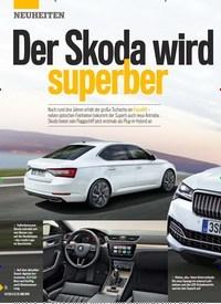 Titelbild der Ausgabe 21/2019 von Der Skoda wird superber. Zeitschriften als Abo oder epaper bei United Kiosk online kaufen.