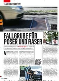 Titelbild der Ausgabe 22/2019 von FALLGRUBE FÜR POSER UND RASER. Zeitschriften als Abo oder epaper bei United Kiosk online kaufen.