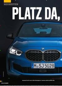Titelbild der Ausgabe 22/2019 von PLATZ DA, jetzt kommt … der neue 1er!. Zeitschriften als Abo oder epaper bei United Kiosk online kaufen.