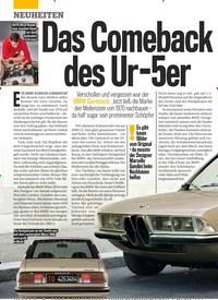 Titelbild der Ausgabe 22/2019 von Das Comeback des Ur- 5er. Zeitschriften als Abo oder epaper bei United Kiosk online kaufen.