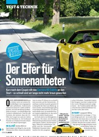 Titelbild der Ausgabe 23/2019 von GEMESSEN & GETESTET: Der Elfer für Sonnenanbeter. Zeitschriften als Abo oder epaper bei United Kiosk online kaufen.