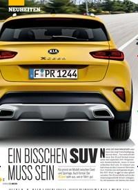 Titelbild der Ausgabe 26/2019 von EIN BISSCHEN SUV MUSS SEIN. Zeitschriften als Abo oder epaper bei United Kiosk online kaufen.
