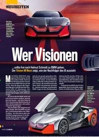 Titelbild der Ausgabe 26/2019 von Wer Visionen. Zeitschriften als Abo oder epaper bei United Kiosk online kaufen.