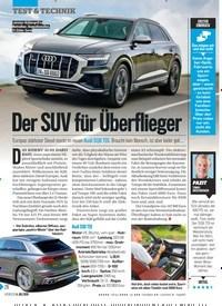 Titelbild der Ausgabe 27/2019 von Der SUV für Überflieger. Zeitschriften als Abo oder epaper bei United Kiosk online kaufen.