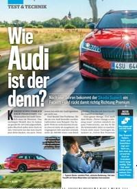 Titelbild der Ausgabe 27/2019 von Wie Audi ist der denn?. Zeitschriften als Abo oder epaper bei United Kiosk online kaufen.