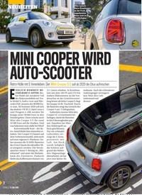 Titelbild der Ausgabe 28/2019 von MINI COOPER WIRD AUTO-SCOOTER. Zeitschriften als Abo oder epaper bei United Kiosk online kaufen.
