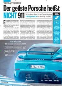 Titelbild der Ausgabe 29/2019 von Der geilste Porsche heißt NICHT 911. Zeitschriften als Abo oder epaper bei United Kiosk online kaufen.