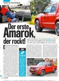 Titelbild der Ausgabe 30/2019 von Der erste Amarok , der rockt!. Zeitschriften als Abo oder epaper bei United Kiosk online kaufen.
