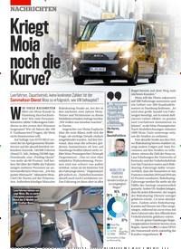 Titelbild der Ausgabe 32/2019 von Kriegt Moia noch die Kurve?. Zeitschriften als Abo oder epaper bei United Kiosk online kaufen.