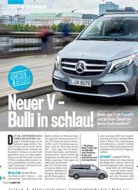 Titelbild der Ausgabe 32/2019 von GEMESSEN & GETESTET: Neuer V – Bulli in schlau!. Zeitschriften als Abo oder epaper bei United Kiosk online kaufen.