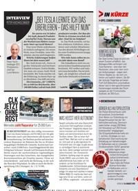 Titelbild der Ausgabe 33/2019 von CLK JETZT OHNE ROST. Zeitschriften als Abo oder epaper bei United Kiosk online kaufen.