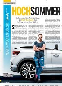 Titelbild der Ausgabe 33/2019 von HOCHSOMMER BEI VW. Zeitschriften als Abo oder epaper bei United Kiosk online kaufen.