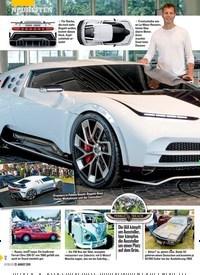 Titelbild der Ausgabe 34/2019 von DER ACHTMILLIONEN- BUGATTI. Zeitschriften als Abo oder epaper bei United Kiosk online kaufen.