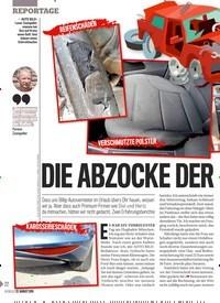 Titelbild der Ausgabe 34/2019 von DIE ABZOCKE DER AUTOVERMIE TER. Zeitschriften als Abo oder epaper bei United Kiosk online kaufen.