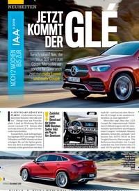 Titelbild der Ausgabe 35/2019 von NOCH 2 WOCHEN BIS ZUR IAA 2019: JETZT KOMMT DER GLÉ. Zeitschriften als Abo oder epaper bei United Kiosk online kaufen.