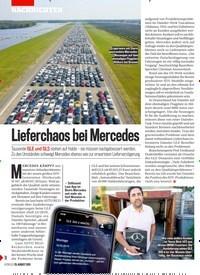 Titelbild der Ausgabe 35/2019 von Lieferchaos bei Mercedes. Zeitschriften als Abo oder epaper bei United Kiosk online kaufen.