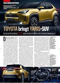 Titelbild der Ausgabe 18/2020 von TOYOTA bringt YARIS-SUV. Zeitschriften als Abo oder epaper bei United Kiosk online kaufen.