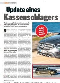 Titelbild der Ausgabe 4/2019 von FAHRBERICHT: Update eines Kassenschlagers. Zeitschriften als Abo oder epaper bei United Kiosk online kaufen.