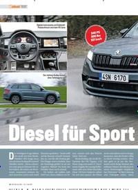 Titelbild der Ausgabe 5/2019 von TEST: Diesel für Sport freunde. Zeitschriften als Abo oder epaper bei United Kiosk online kaufen.