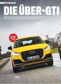 Titelbild der Ausgabe 6/2019 von VERGLEICH: DIE ÜBER-GTI. Zeitschriften als Abo oder epaper bei United Kiosk online kaufen.