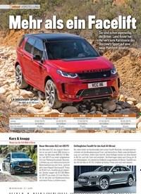 Titelbild der Ausgabe 7/2019 von VORSTELLUNG: Mehr als ein Facelift. Zeitschriften als Abo oder epaper bei United Kiosk online kaufen.