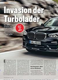 Titelbild der Ausgabe 7/2019 von Invasion der Turbolader. Zeitschriften als Abo oder epaper bei United Kiosk online kaufen.