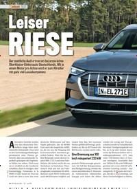 Titelbild der Ausgabe 7/2019 von TEST: Leiser RIESE. Zeitschriften als Abo oder epaper bei United Kiosk online kaufen.