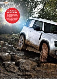 Titelbild der Ausgabe 9/2019 von ZUKUNFT: Land Rovers Ikone reloaded. Zeitschriften als Abo oder epaper bei United Kiosk online kaufen.
