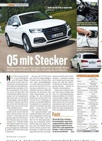Titelbild der Ausgabe 10/2019 von FAHRBERICHT: Q5 mit Stecker. Zeitschriften als Abo oder epaper bei United Kiosk online kaufen.